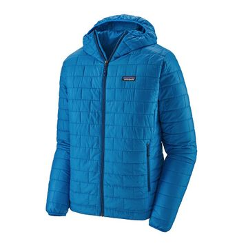 Patagonia Mens Nano Puff Hoody Andes Blue w/ Andes Blue (close out)