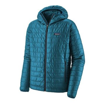 Patagonia Mens Nano Puff Hoody Balkan Blue (Close Out)