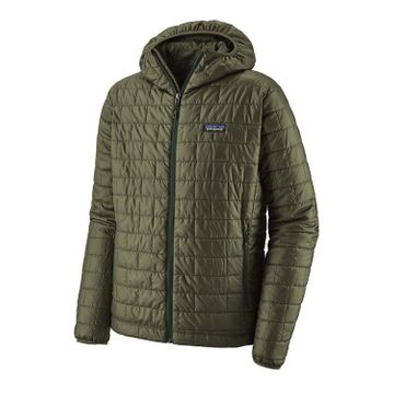 Patagonia Mens Nano Puff Hoody Industrial Green (Close Out)