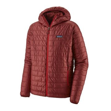 Patagonia Mens Nano Puff Hoody Oxide Red (Close Out)
