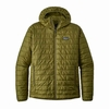 Patagonia Mens Nano Puff Hoody Willow Herb Green