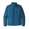 Patagonia Mens Nano Puff Jacket Big Sur Blue w/ Balkan Blue (Close Out)