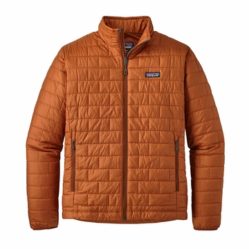Patagonia Mens Nano Puff Jacket Copper Ore