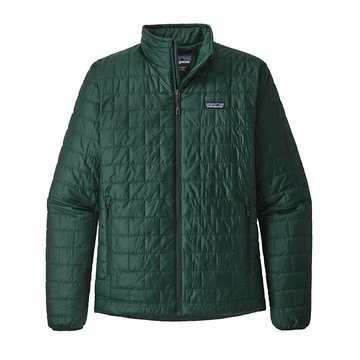 Patagonia Mens Nano Puff Jacket Micro Green