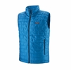 Patagonia Mens Nano Puff Vest Andes Blue w/ Andes Blue