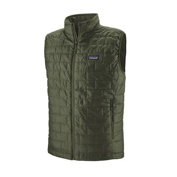 Patagonia Mens Nano Puff Vest Kelp Forest
