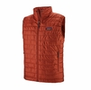 Patagonia Mens Nano Puff Vest Roots Red