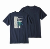 Patagonia Mens OG Ice Tools Responsibili-Tee Classic Navy  (close out)