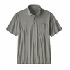 Patagonia Mens Organic Cotton Lightweight Polo Feather Grey (close out)
