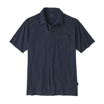 Patagonia Mens Organic Cotton Lightweight Polo New Navy