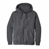 Patagonia Mens Organic Cotton Quilt Hoody Forge Grey