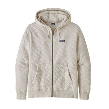 Patagonia Mens Organic Cotton Quilt Hoody Pumice (close out)