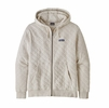Patagonia Mens Organic Cotton Quilt Hoody Pumice