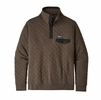 Patagonia Mens Organic Cotton Quilt Snap-T Pullover Logwood Brown (Close Out)