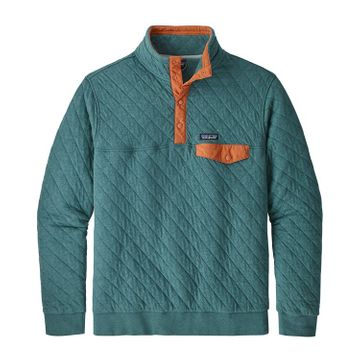 Patagonia Mens Organic Cotton Quilt Snap-T Pullover Tasmanian Teal (Close Out)