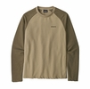 Patagonia Mens P-6 Logo Lightweight Crew Sweatshirt El Cap Khaki (Close Out)