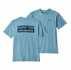 Patagonia Mens P-6 Logo Responsibili-Tee Break Up Blue (Close Out)