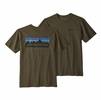 Patagonia Mens P6 Logo Responsibili-Tee Sediment (Close Out)