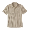 Patagonia Mens Polo Trout Fitz Roy Pumice