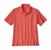 Patagonia Mens Polo Trout Fitz Roy Spiced Coral