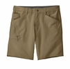 Patagonia Mens Quandary Shorts 8in Ash Tan