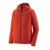 Patagonia Mens R1 TechFace Hoody Hot Ember