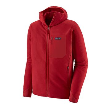 Patagonia Mens R2 TechFace Hoody Classic Red (Close Out)