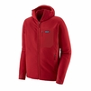 Patagonia Mens R2 TechFace Hoody Classic Red