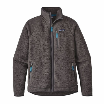 Patagonia Mens Retro Pile Fleece Jacket Forge Grey