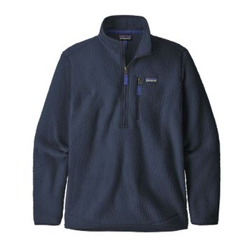 Patagonia Mens Retro Pile Pullover New Navy (Close Out)