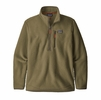 Patagonia Mens Retro Pile Pullover Sage Khaki (Close Out)