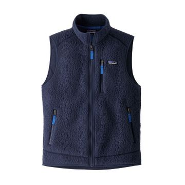 Patagonia Mens Retro Pile Vest New Navy