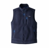 Patagonia Mens Retro Pile Vest Navy (close out)