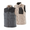 Patagonia Mens Reversible Bivy Down Vest Forge Grey