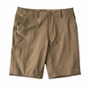 Patagonia Mens Stretch Wavefarer Walk Shorts 20in Ash Tan