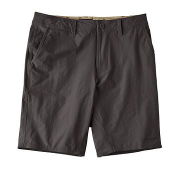 Patagonia Mens Stretch Wavefarer Walk Shorts 20in Ink Black