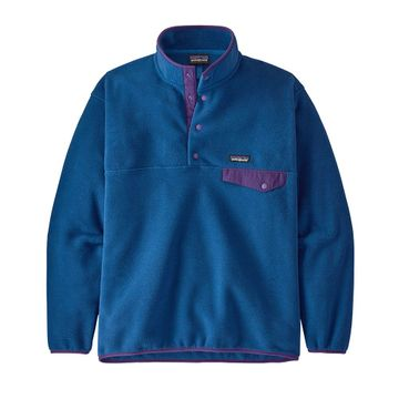 Patagonia Mens Synch Snap-T Pullover Superior Blue