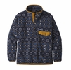 Patagonia Mens Synch Snap-T Pullover Tundra Cluster: New Navy (Close Out)