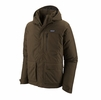 Patagonia Mens Topley Jacket Logwood Brown (Close Out)