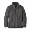 Patagonia Mens Woolie Fleece Pullover Forge Grey (Close Out)