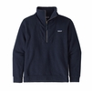 Patagonia Mens Woolie Fleece Pullover Navy Blue