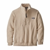 Patagonia Mens Woolie Fleece Pullover Oatmeal (Close Out)