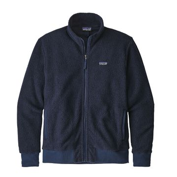 Patagonia Mens Woolyester Fleece Jacket Classic Navy (Close Out)