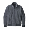 Patagonia Mens Woolyester Fleece Jacket Forge Grey