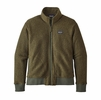 Patagonia Mens Woolyester Fleece Jacket Industrial Green