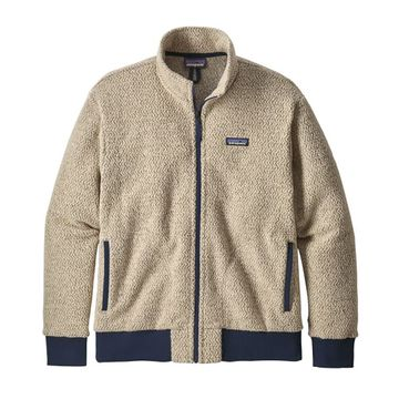 Patagonia Mens Woolyester Fleece Jacket Oatmeal Heather (Close Out)