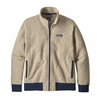 Patagonia Mens Woolyester Fleece Jacket Oatmeal Heather