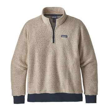 Patagonia Mens Woolyester Fleece Pullover Oatmeal Heather (Close Out)