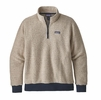 Patagonia Mens Woolyester Fleece Pullover Oatmeal Heather