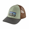 Patagonia P-6 Logo LoPro Trucker Hat Celadon (Close Out)
